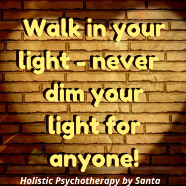 Walking in your Light